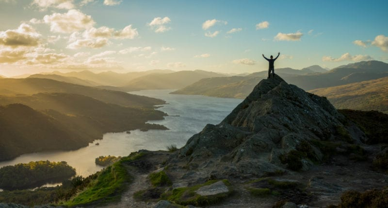 Ben A-an in the Loch Lomond and Trossachs