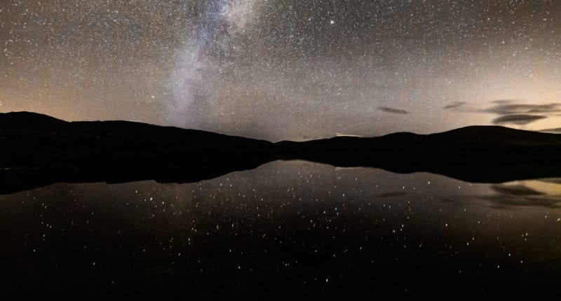 Clatteringshaws Loch in Galloway Dark Skies Park