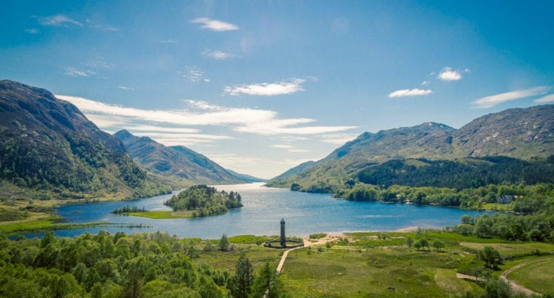 Glenfinnan and Loch Shiel