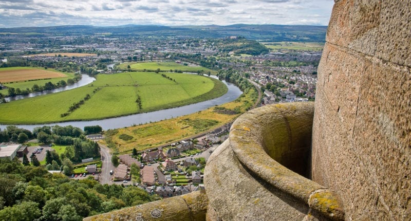 View of Stirling from the Wallace Monument