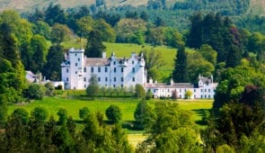 Blair Castle in Highland Perthshire