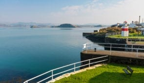 The Crinan Canal in the Sunshine