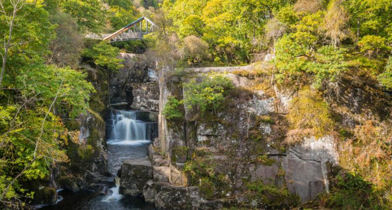 Bracklinn Falls, Trossachs National Park