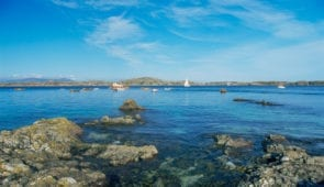 View of Mull from the Isle of Iona