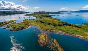 Isle of Kerrera, near Oban
