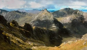 Panorama from Goatfell, Isle of Arran