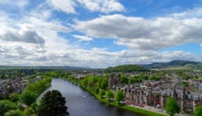 River Ness running through Inverness