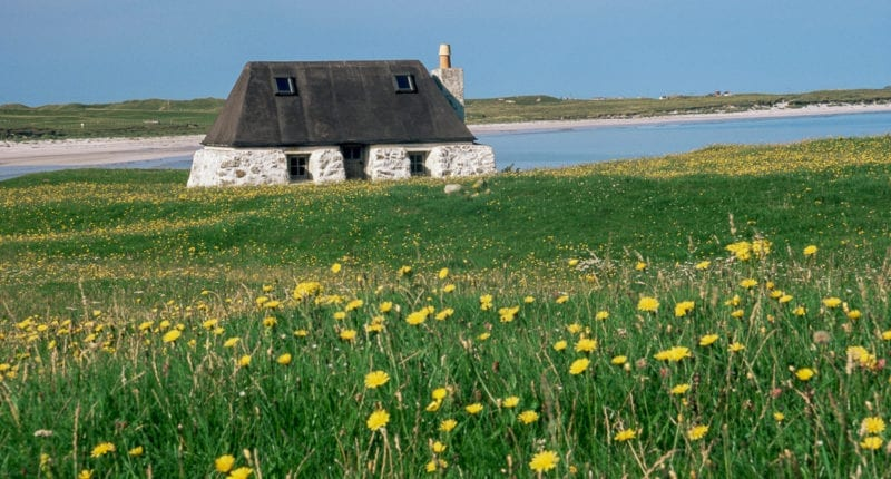 Traditional Croft, The Isle Of Tiree