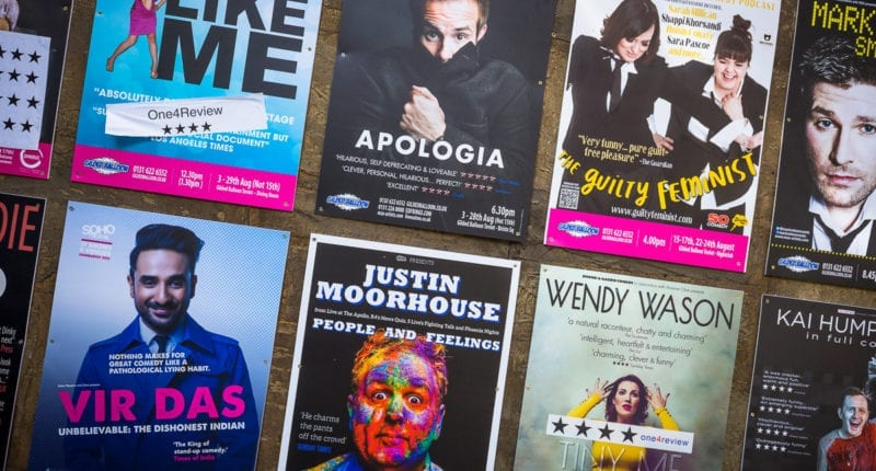 Edinburgh Fringe Festival posters