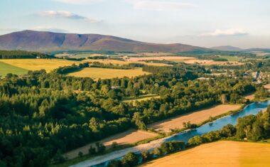 Spey Valley, Scotland