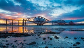 The Forth Bridge from South Queensferry