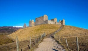 Ruthven Barracks, Cairngorms National Park