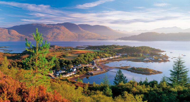 Plockton on Loch Carron