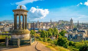 Edinburgh, viewed from Calton Hill