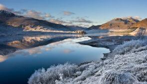 Loch Cluanie in the Scottish Highlands