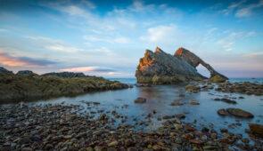 Bow Fiddle Rock, Moray Coast