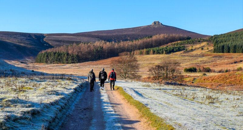 Frosty winter walk in Aberdeenshire