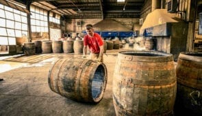 Speyside whisky distillery