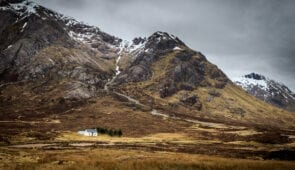 Glencoe in the Scottish Highlands