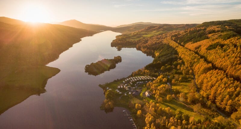 The Queens View, Perthshire
