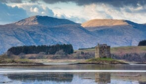 Castle Stalker, West Coast