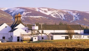 Dalwhinnie Whisky Distillery in the Highlands
