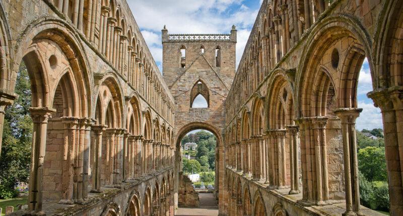 Jedburgh Abbey, Scottish Borders