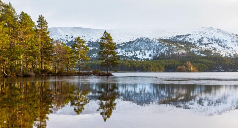 Loch An Eilean, Cairngorms National Park
