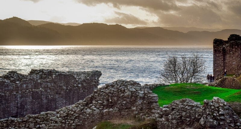 Loch Ness and Urquhart Castle