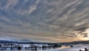 River Spey in winter