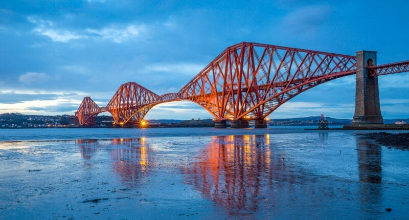 The Forth Bridge from Queensferry