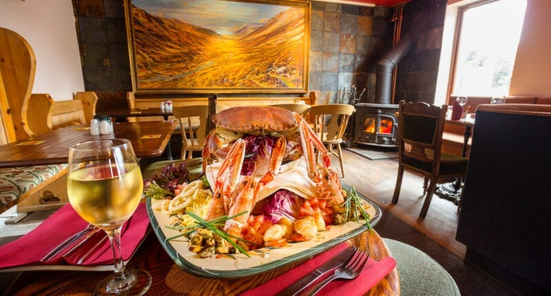 Seafood in Gairloch