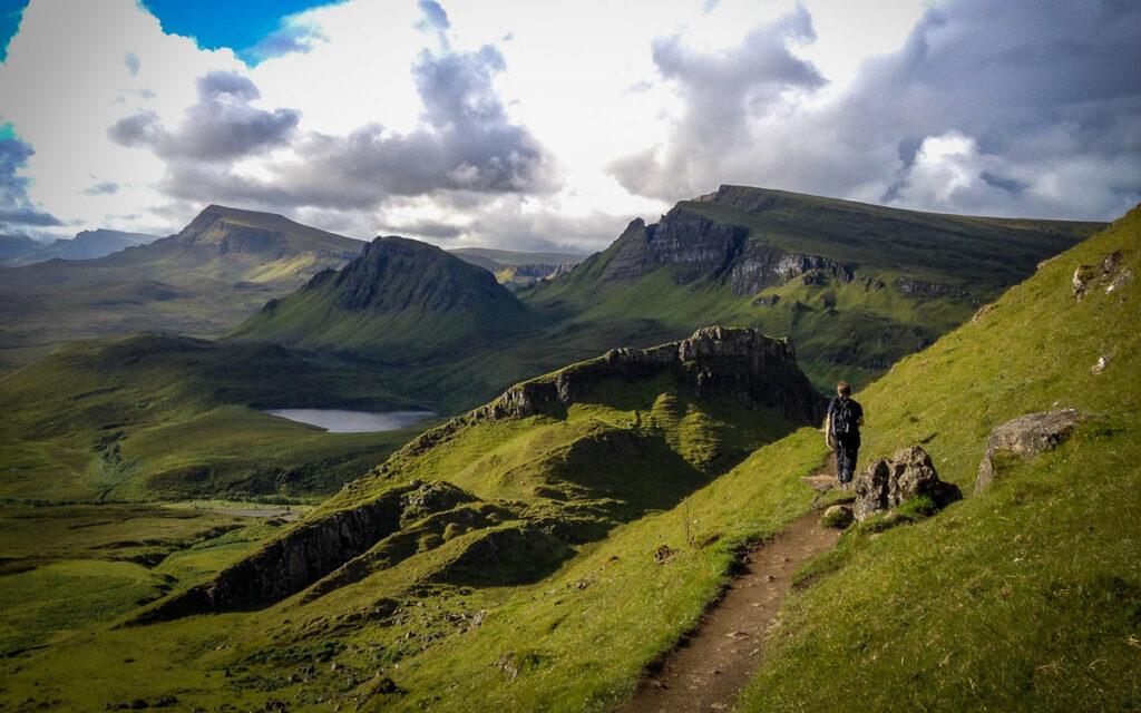rotternish Ridge to the Old Man of Storr Skye Trail