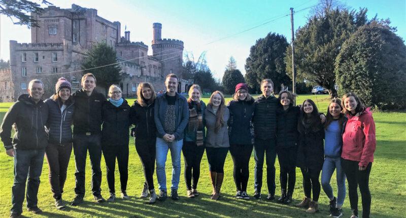 Dalhousie Castle Team Photo