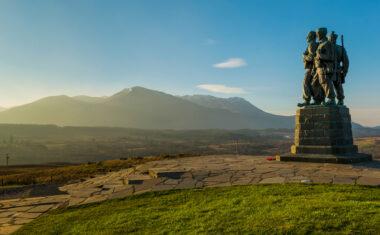 Commando-Memorial on the East Highland Way