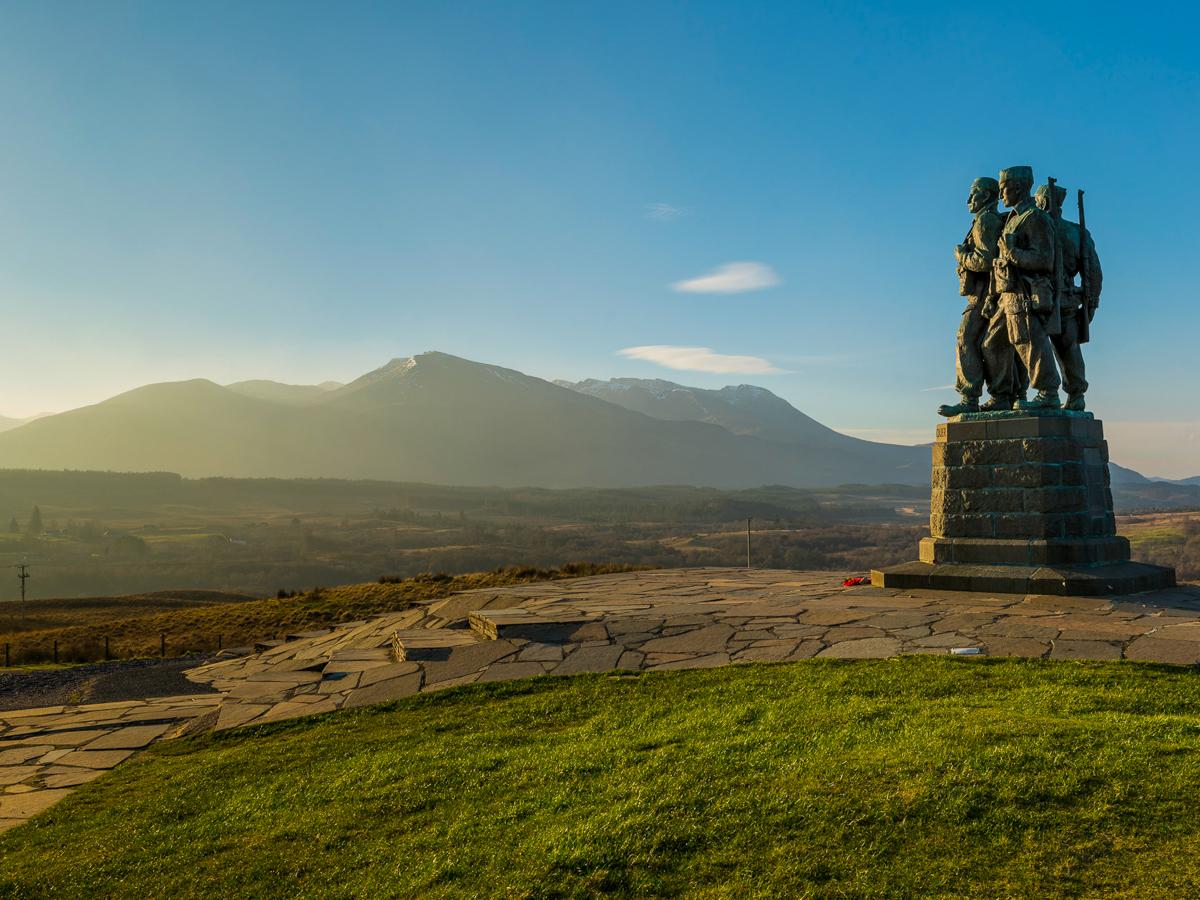 Commando-Memorial near Spean Bridge
