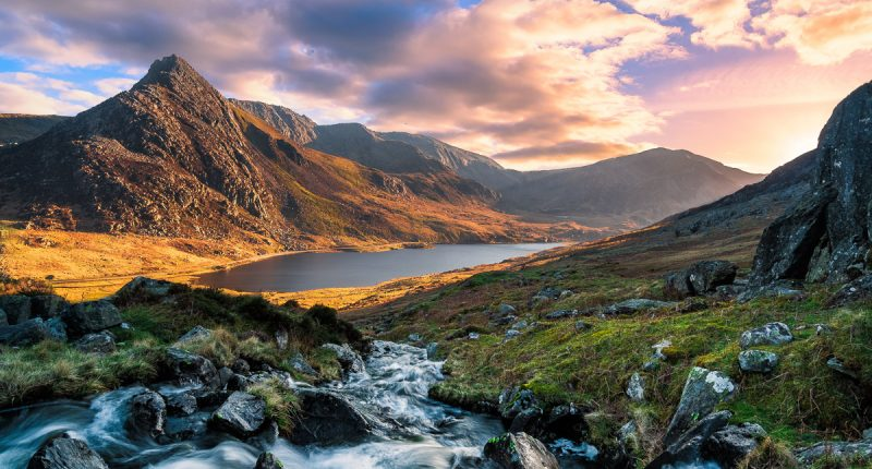 Scenery in Snowdonia National Park