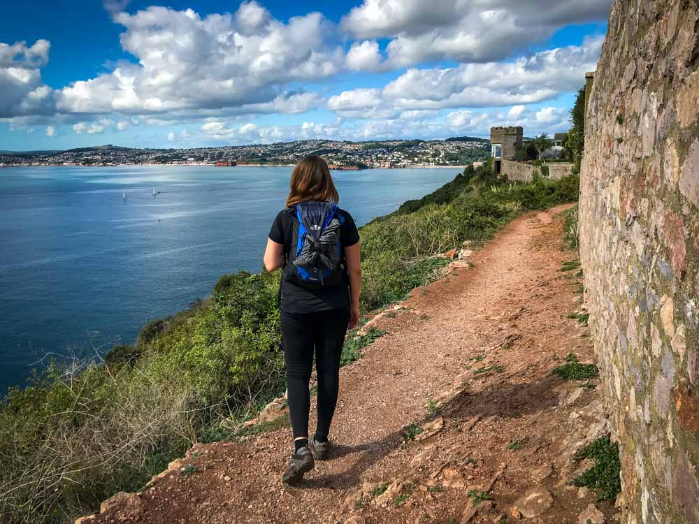 -Fern-from-Absolute-Escapes-walking-from-Teignmouth-to-Paignton.