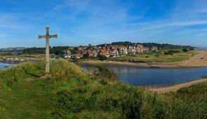 Alnmouth Bay from Church Hill