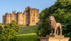 Alnwick Castle, Northumberland