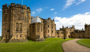 Alnwick Castle - filming location of Hogwarts Castle