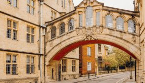 Bridge of Sighs at Hertford College, Oxford