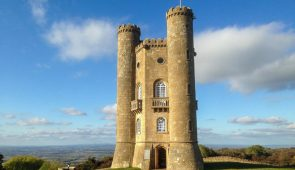 Broadway Tower - the second-highest point in the Cotswolds