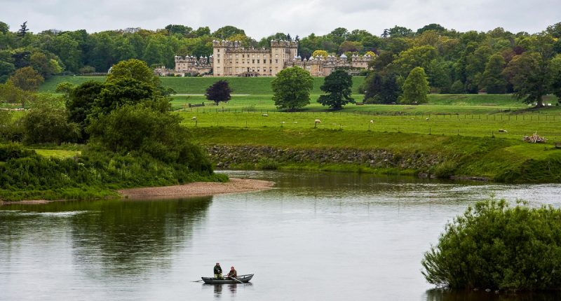 Floors Castle & River Tweed, Scotland