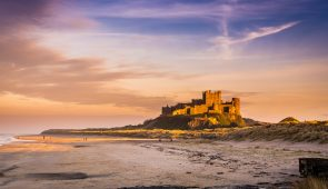 Bamburgh Castle, Northumberland coast