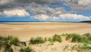 Holkham Beach in Norfolk (© Holkham Estate)