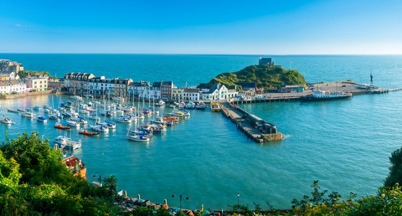 Ilfracombe Harbour, North Devon