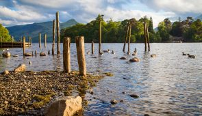 Looking across Derwentwater
