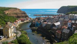 Picturesque Staithes village