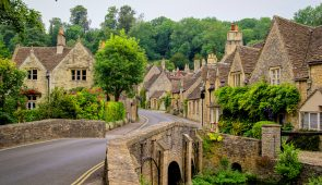 Quaint village of Castle Combe, Cotswolds